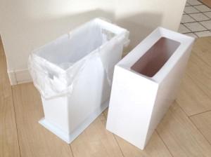 チューブラー ゴミ箱