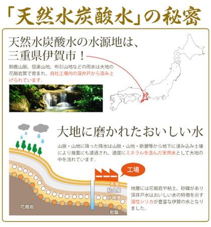 伊賀の天然炭酸水