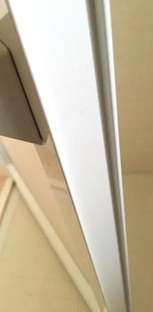 浴室ドア溝