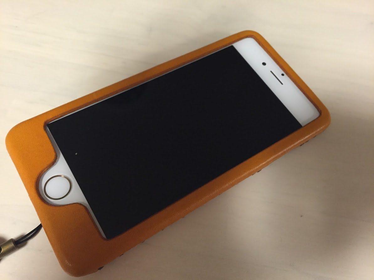 iphoneレザーケース