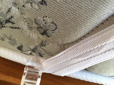 布団ズレ落ちクリップ敷きパッドに使う