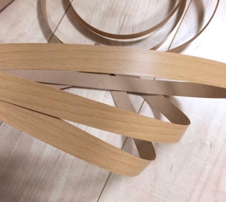 木目調プリント木口テープ