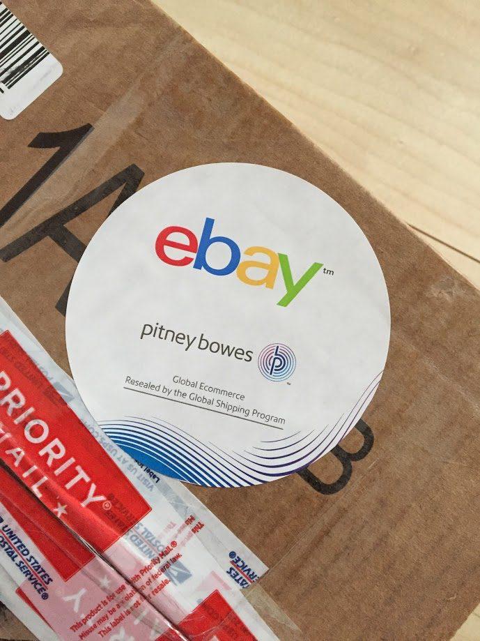 ebay荷物