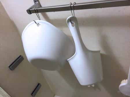 クエン酸で手桶掃除