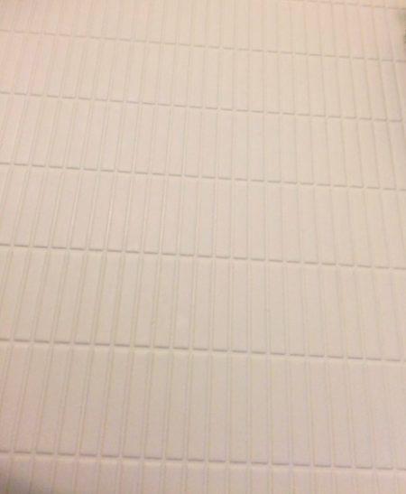 パナソニック製お風呂床拡大