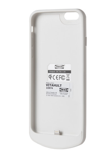 ikeaワイヤレス充電カバー