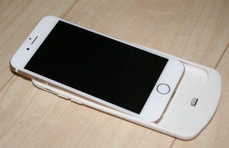 iphone6用ワイヤレス充電ケース