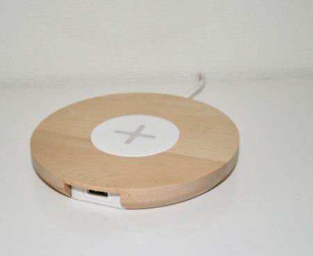 イケアワイヤレス充電パッドバーチ