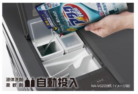 キューブル洗剤自動投入