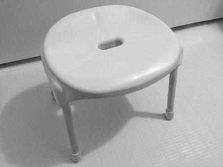 お風呂場の椅子汚れ