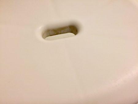 お風呂用椅子汚れ