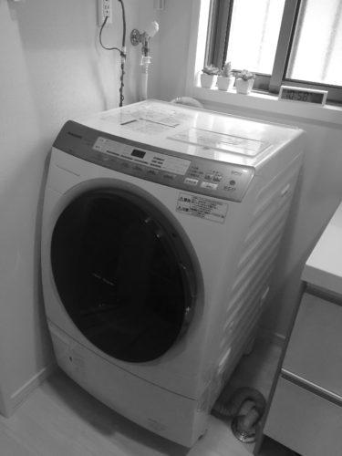 ドラム式洗濯機失敗