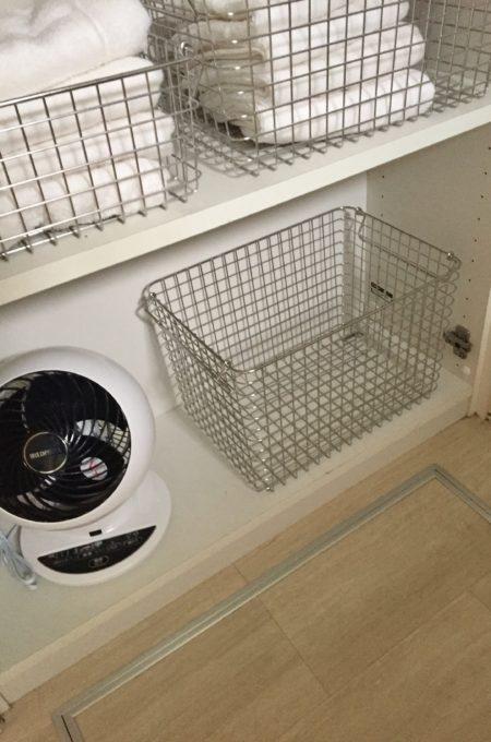 洗面所洋服置き場