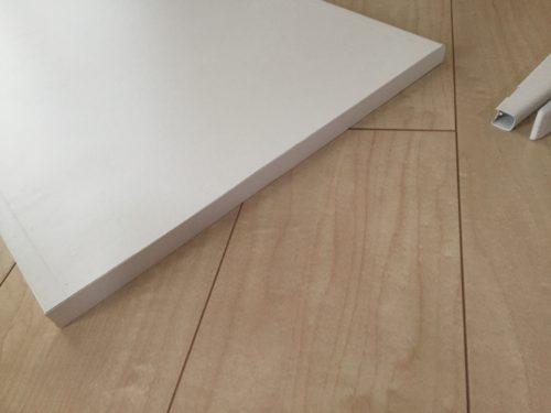 イケアアルゴート棚板木口テープ
