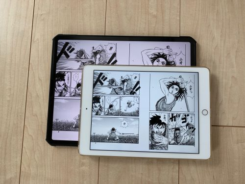 ipad 漫画 サイズ