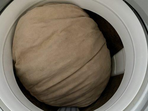 モチモチクッション洗濯