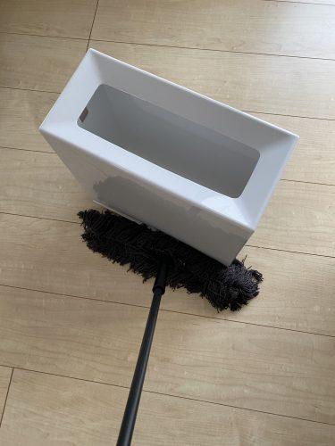 ごみ箱キャスター掃除